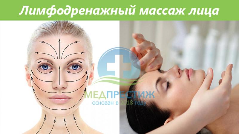 Для чего нужен лимфодренажный массаж лица? Фото
